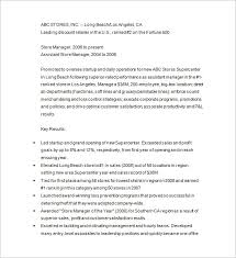 Retail Store Manager Resume Example by Retail Resume Template U2013 10 Free Samples Examples Format