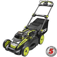 ryobi 20 in 40 volt brushless lithium ion cordless battery self