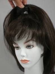 thin hair pull through wigltes best clip in wig toppers hair extensions for women with thinning
