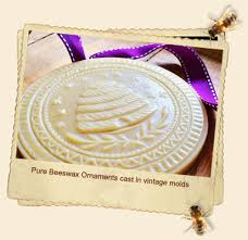 gretchen bee ranch beeswax ornaments from