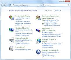 configurer bureau à distance windows 7 panneau de configuration windows 7 aidewindows