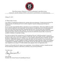 leadership recommendation letter students on ice