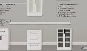 Kitchen Wall Cabinets with Glass Doors Lovely Glass Kitchen Wall