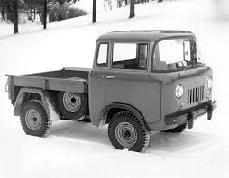 jeep j8 truck from the archives 1956 willys jeep fc 150 pick up the jeep blog