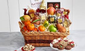 gourmet fruit baskets candies cookies fruit gifts cherry moon farms groupon