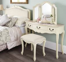 shabby chic champagne dressing table mirror bedroom furniture direct