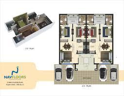 2bhk Plan by Layout Plan Cheap Best Flats Mohali