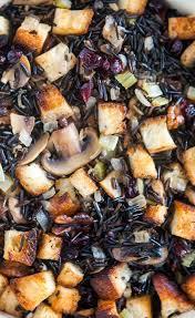 wild rice thanksgiving side dish wild rice stuffing recipe simplyrecipes com