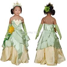 Princess Halloween Costumes Kids Cheap Tiana Costume Tiana Costume Deals