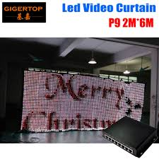 wedding backdrop graphic aliexpress buy p9 2m 6m led curtain pc mode controller