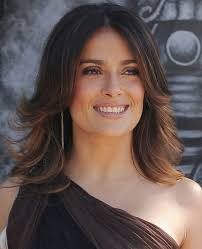 flip hairstyles for long face shape top 26 salma hayek hairstyles pretty designs