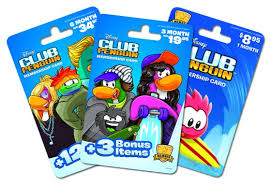 club penguin gift card a disney club penguin membership for christmas yes out