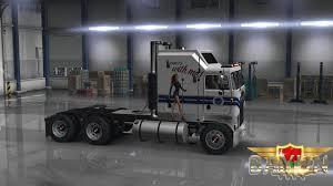 kenworth website kenworth k100 military girls skin american truck simulator mod