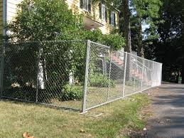 Small Backyard Fence Ideas Chain Link Fence Paint Design And Ideas Of House