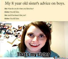 Little Sister Meme - rmx overly attached little sister by dadomonator meme center