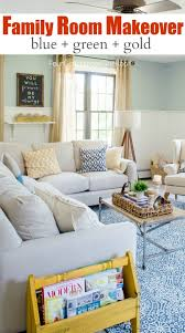 family room makeover family room summer makeover four generations one roof