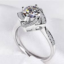rose design rings images Buy fashion jewelry square shape flower rose jpg