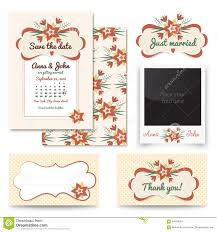 Vintage Wedding Invitation Card Vintage Wedding Invitation Design Sets Include Invitation Card