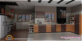 bedroom and kitchen interiors kerala home design and floor plans