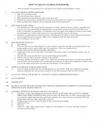Effective Resume Samples by How To Make An Effective Resume Resume For Your Job Application