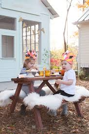 infant thanksgiving a thanksgiving kids table with astrobrights lay baby lay