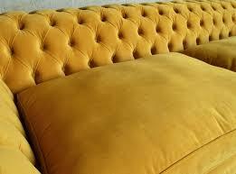 Chesterfield Sofa Cushions Rutland Velvet Chesterfield Sofa Velvet Chesterfield Sofa