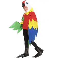 animal costumes child deluxe parrot bird animal tropical jungle fancy dress costume