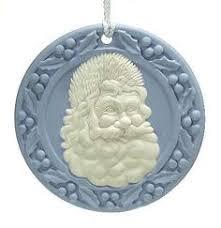 wedgwood ornament santa cameo