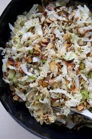 napa salad napa cabbage slaw dula notes