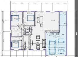 plan maison plain pied 100m2 3 chambres plan maison 100m2 plein pied