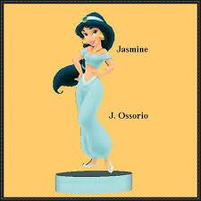 papercraft princess jasmine free template download