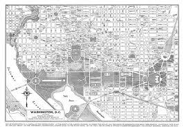Maps Of Washington by 1944 Washington Dc Street Map Vintage 11x14 12 95 Via Etsy
