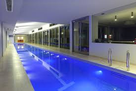 the ultimate luxury a sunset indoor lap pool and spa sunset