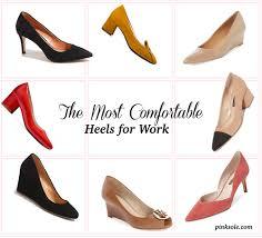 Most Comfortable High Heel Brands The Most Comfortable Heels For Work