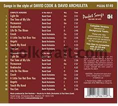 David Cook Light On Snowangelz Canadian Fans Of David Archuleta A Community Of