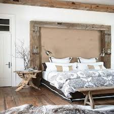 Rustic Contemporary Bedroom Furniture Modern Rustic Bedroom Decorating Ideas And Photos
