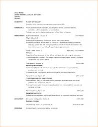 Summer Job Resume No Experience by Resume For Flight Attendant Job Resume For Your Job Application