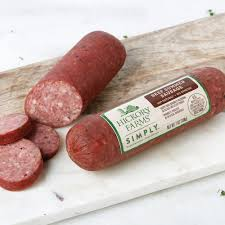 hillshire farms summer sausage beef summer sausages hickory farms