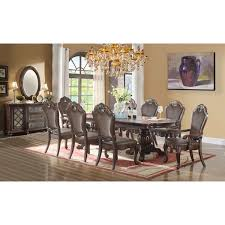 dining room pieces ultimate accents 9 piece dining set reviews wayfair