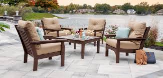 Polywood Patio Furniture by Polywood Vineyard Deep Seating Vermont Woods Studios