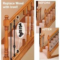 How To Stain Wood Banister Best 25 Stair Spindles Ideas On Pinterest Metal Stair Spindles