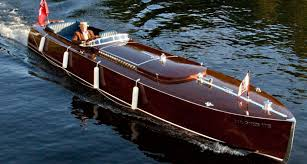 café racer 76 handmade in canadian wood the boats of muskoka