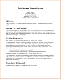Retail Manager Resume Example by 99 Store Manager Resume Example Impressive Resume Format