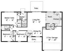 bungalow home plans 1600 sq foot house plans