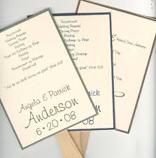 Fan Wedding Program Template Wedding Fan Program Examples Wedding Invitation Sample
