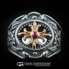 gothic jewelry rings images The history of silver gothic rings jpg