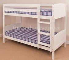 Wooden Bunk Beds With Mattresses Wooden Bunk Beds With Mattresses Ebay