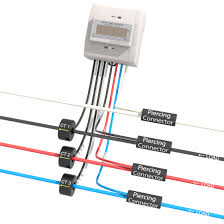 3 phase 4 wire push metering package