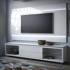 Wall Tv Furniture Manhattan Comfort 2 1745284152 Lincoln Tv Stand W Casters