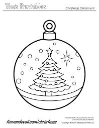 printable ornament templates tree ornaments